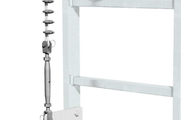 tensionatore linea verticale